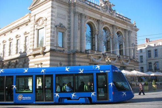 tramway montpellier ligne 1 comédie