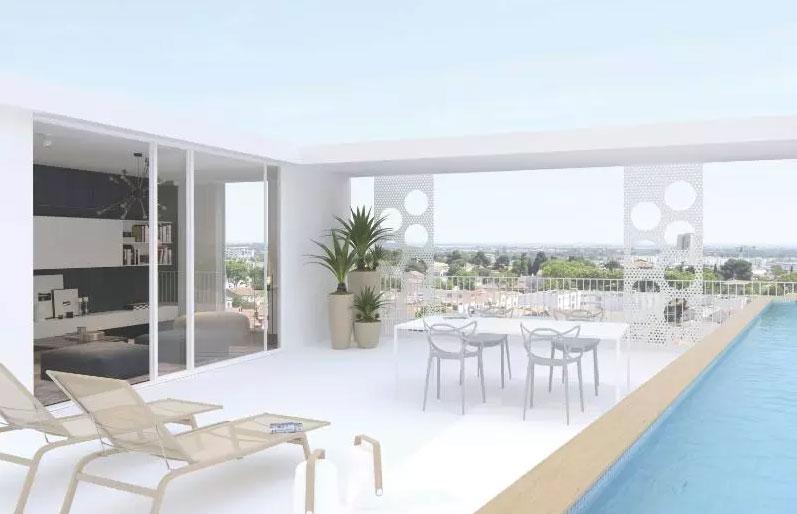 Le nouveau bâtiment dans le quartier de la gare à Montpellier 5 - MontpelYeah Magazine
