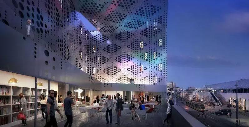 Le nouveau bâtiment dans le quartier de la gare à Montpellier 3 - MontpelYeah Magazine