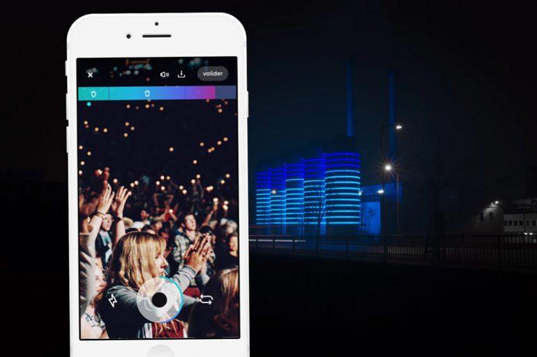 Teazit l'application de teasers vidéos d'évènements arrive à Montpellier 1