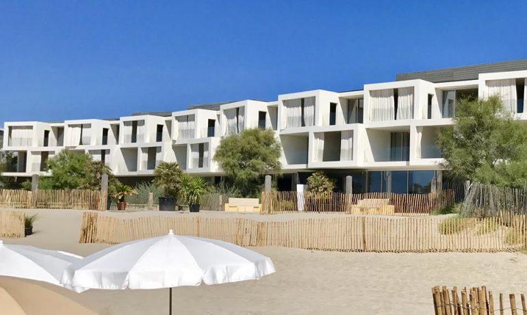 Plage de l'hôtel Costes • Plage Palace Montpellier France 1