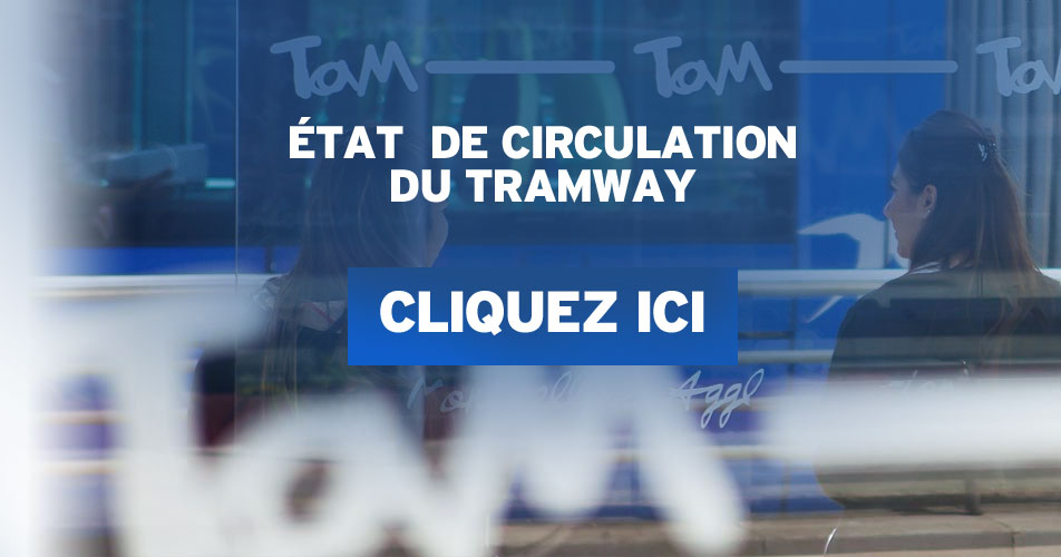 Perturbations tramway montpellier