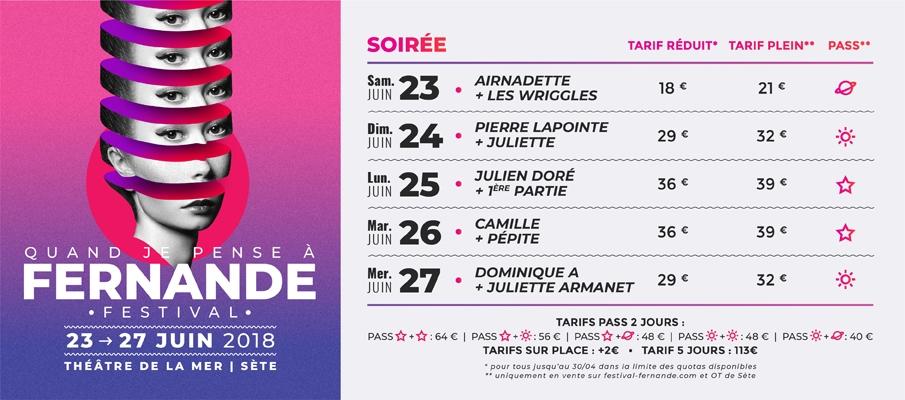 Du 23 au 27 juin 2018 Quand je pense à Fernande • le Festival Sétois qui donne du sens 1 - MontpelYeah Magazine