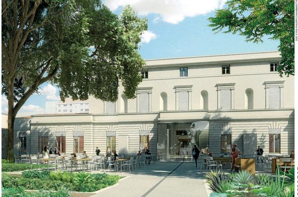 MoCo : visite du futur centre d'art contemporain 2