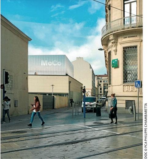 MoCo : visite du futur centre d'art contemporain 9