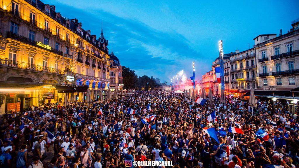 Explosion de joie dans les rue de la ville - en images 39 - MontpelYeah Magazine