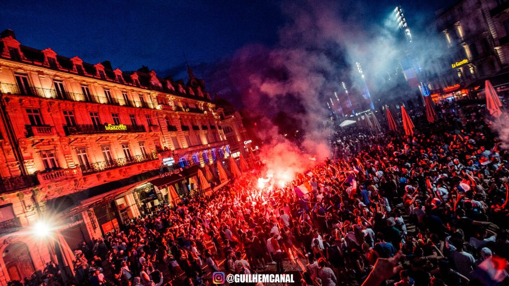 Explosion de joie dans les rue de la ville - en images 37 - MontpelYeah Magazine