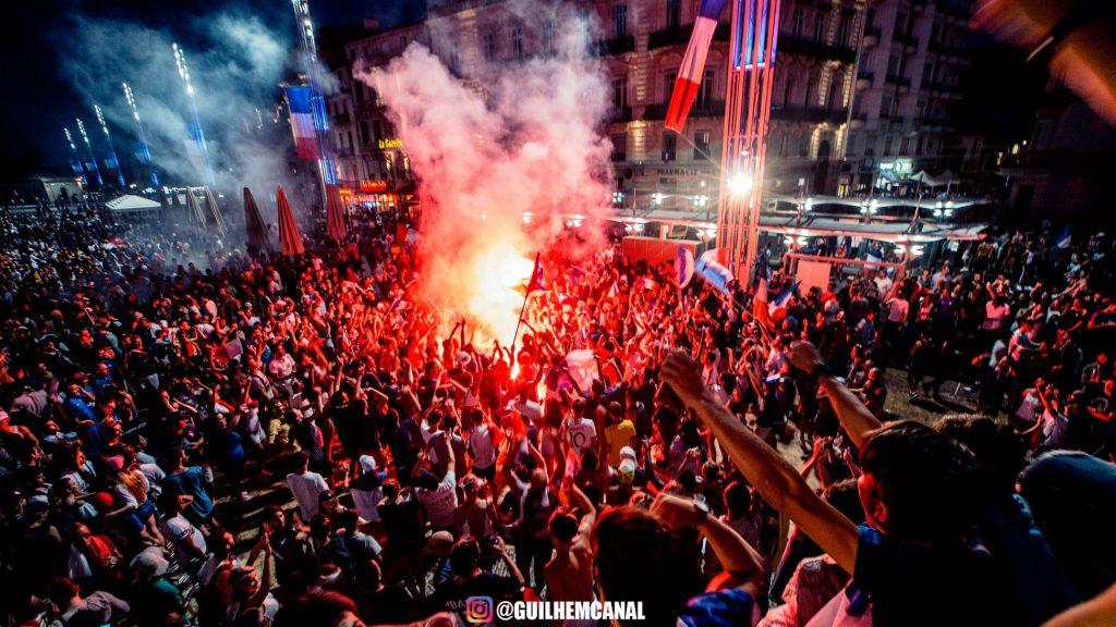 Explosion de joie dans les rue de la ville - en images 23 - MontpelYeah Magazine