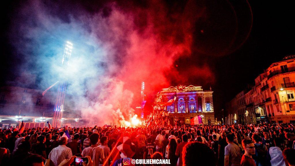 Explosion de joie dans les rue de la ville - en images 19 - MontpelYeah Magazine