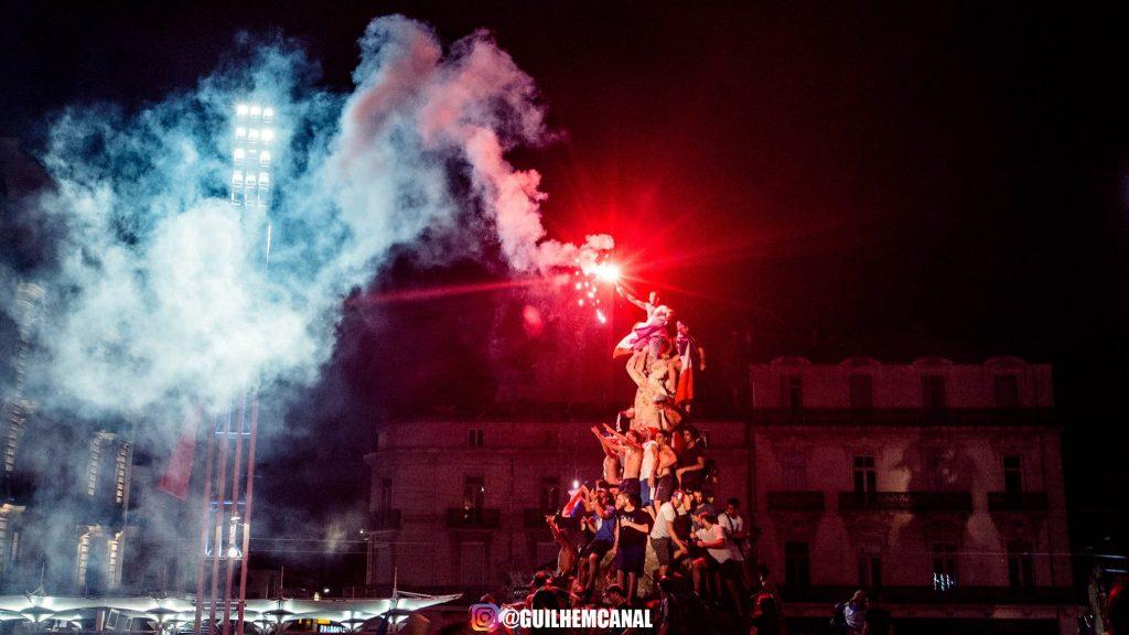 Explosion de joie dans les rue de la ville - en images 1 - MontpelYeah Magazine
