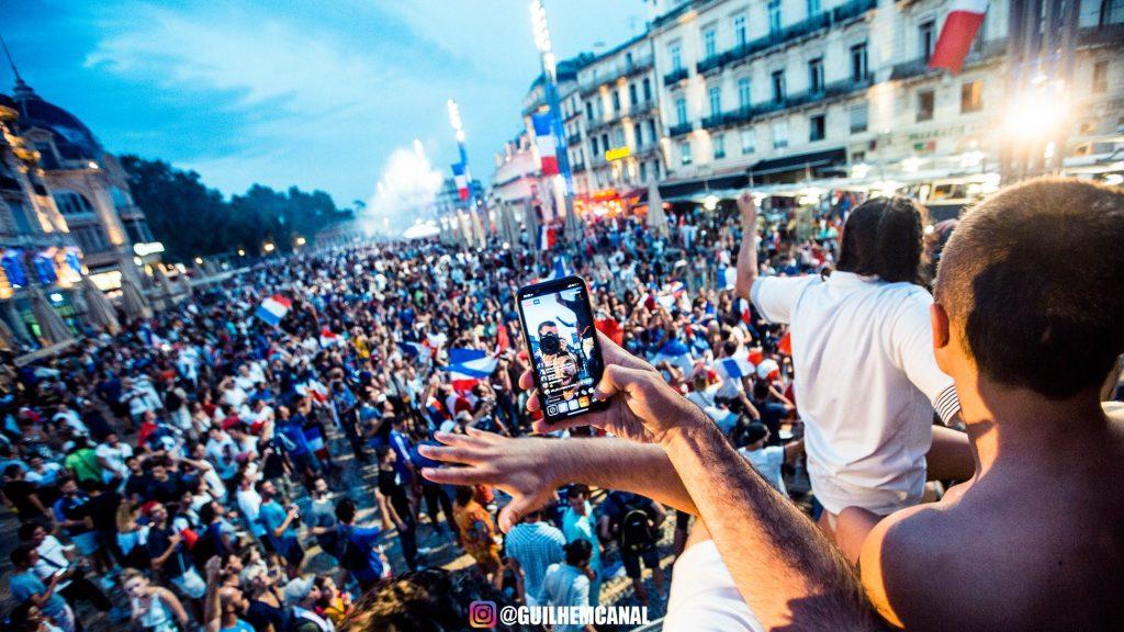 Explosion de joie dans les rue de la ville - en images 9 - MontpelYeah Magazine