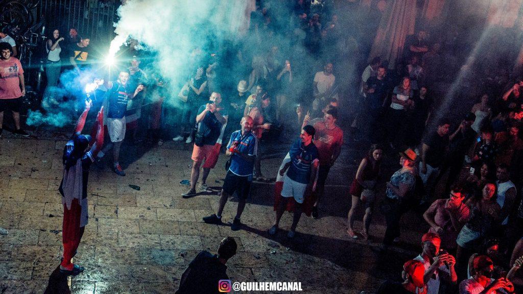 Explosion de joie dans les rue de la ville - en images 3 - MontpelYeah Magazine