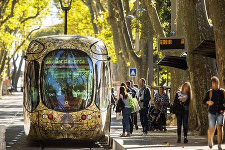 Le tarif des billets de tramway et bus à Montpellier 1