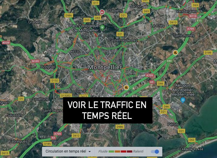 L'autoroute A9 est elle fluide aujourd'hui ?
