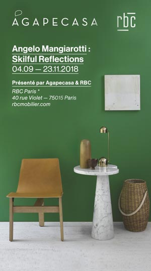 Angelo Mangiarotti au showroom RBC Paris | Idées Déco