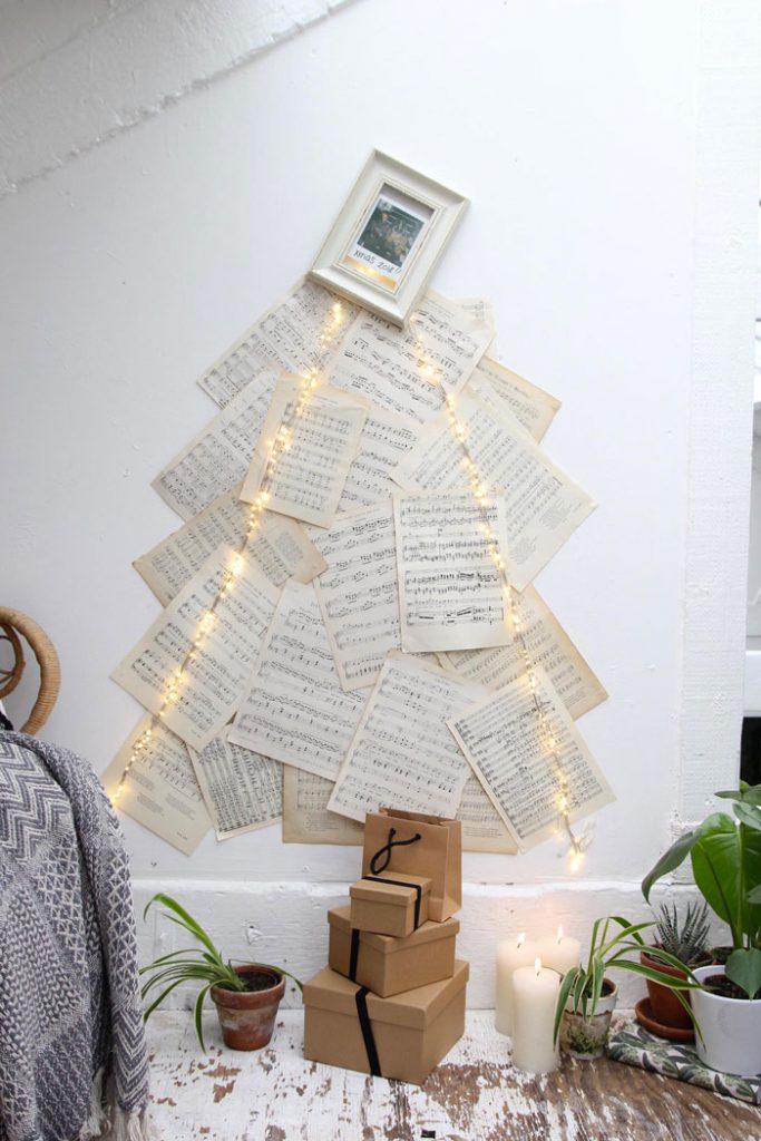 Vos arbres de Noel originaux faits maisons 2