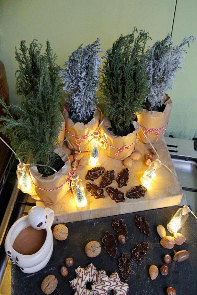Vos arbres de Noel originaux faits maisons 9