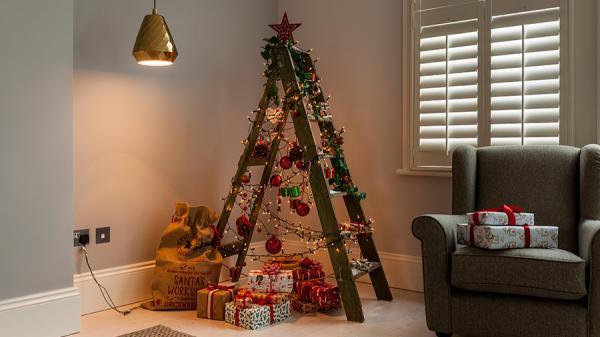 Vos arbres de Noel originaux faits maisons 10