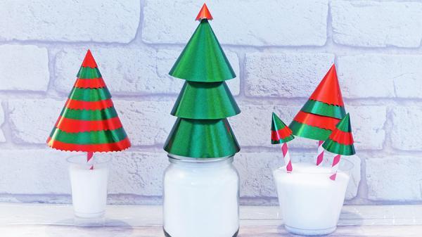 Vos arbres de Noel originaux faits maisons 8