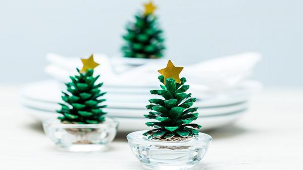 Vos arbres de Noel originaux faits maisons 7