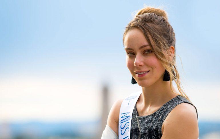 Sarah en course pour Miss International France 1