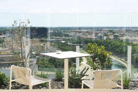 Le Rooftop du 17 ème étage de l'Arbre blanc Montpellier 2