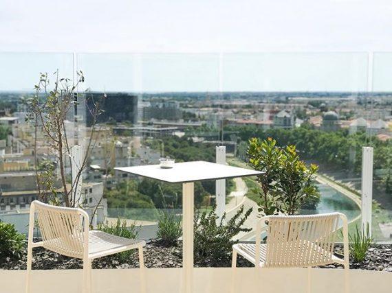 Le Rooftop du 17 ème étage de l'Arbre blanc Montpellier 3