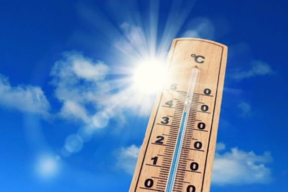 Épisode de fortes chaleurs sur l'Hérault 1