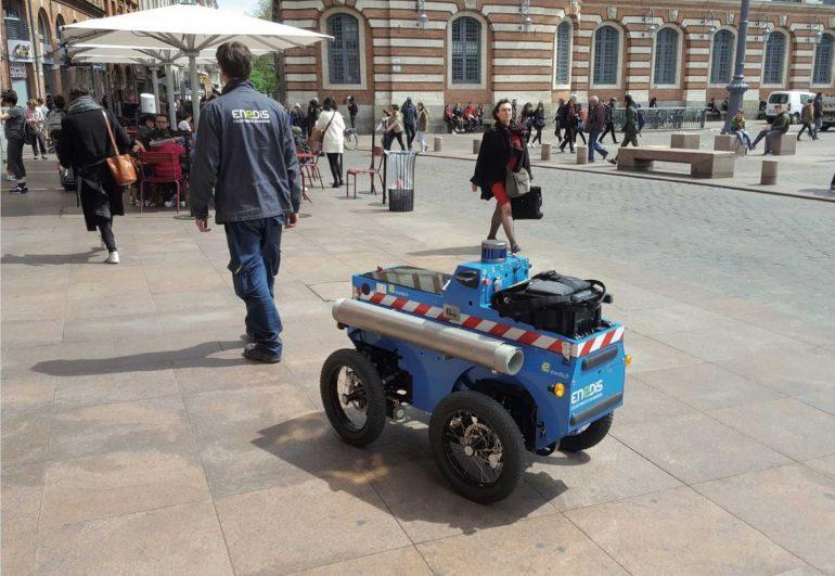 Des robots et droïdes en plein Montpellier 1
