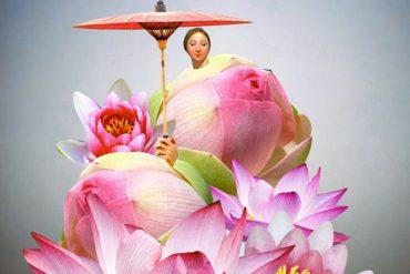 Une série de statuts et d'êtres imaginaires créés par Johanna Goodman 18