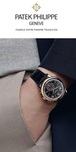 Philippe Patek montre et accessoires de luxe Geneve