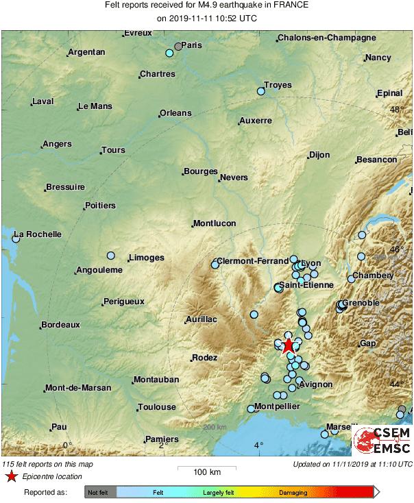 Ce lundi, tremblement de terre à Montpellier 1 - MontpelYeah Magazine