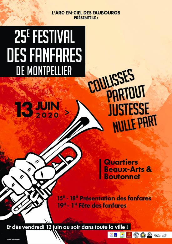 Festival des Fanfares 25ème édition les 12 et 13 juin 2020 1