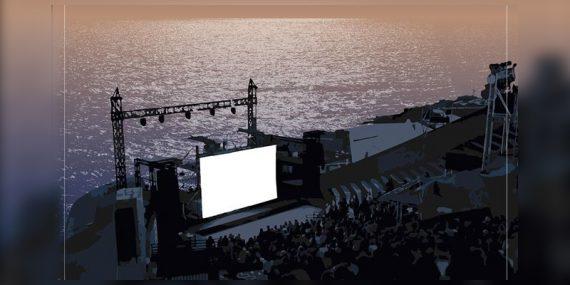 Un Cinéma au théâtre de la mer de Sète cet été 2020 1