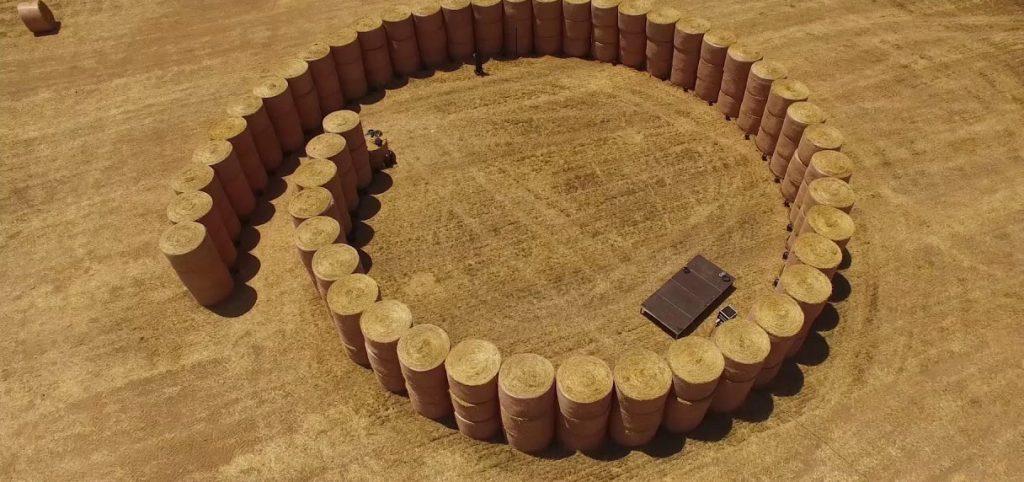 La beauté d'un auditorium en paille pour le concert des 4 éléments 13 - MontpelYeah Magazine